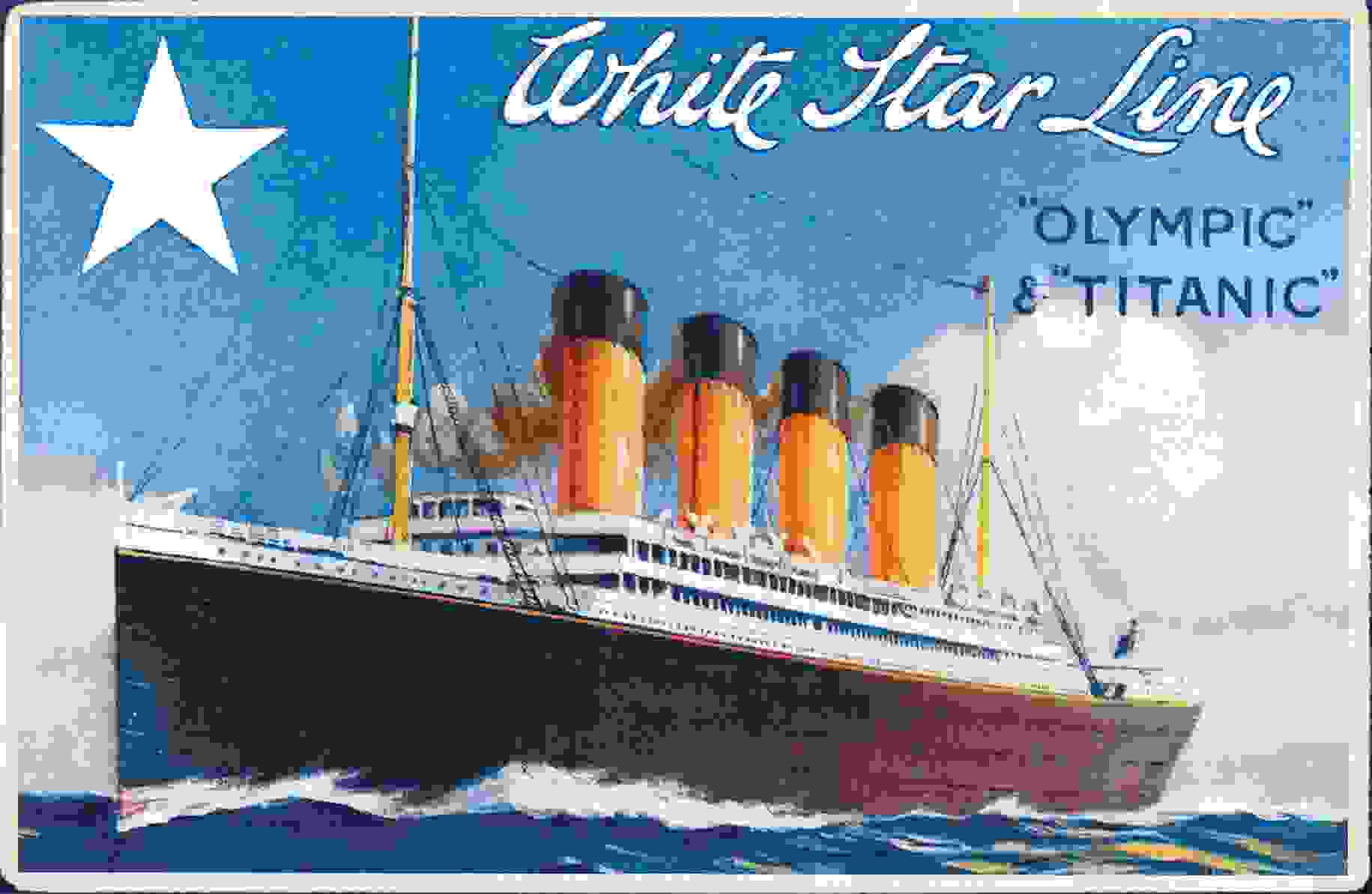 white_star_line_postcard