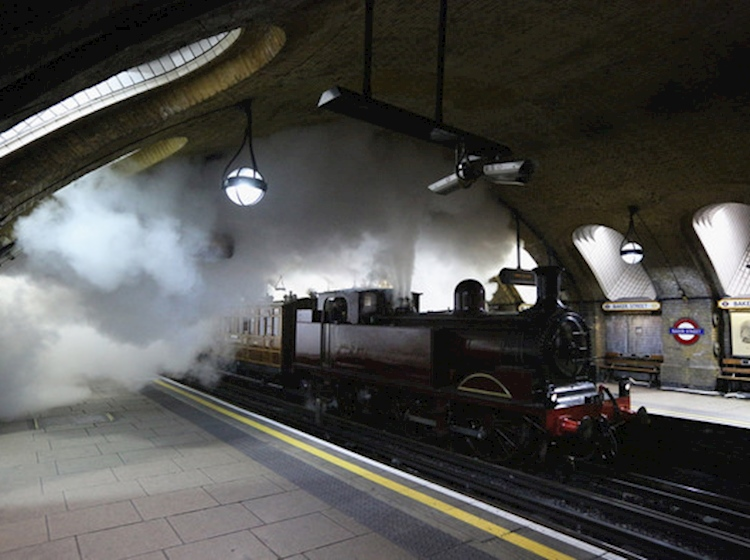 a_steam_train_restored_to_the_underground