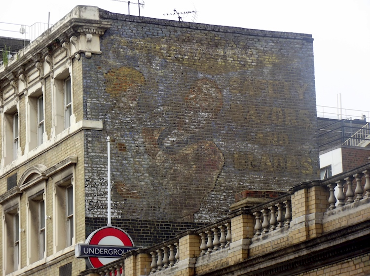 faded_gillette_advert_outside_bayswater_underground_station