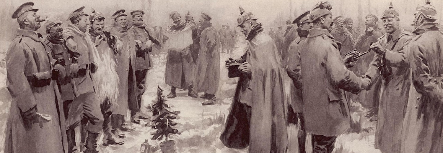 an_artists_impression_of_the_christmas_truce