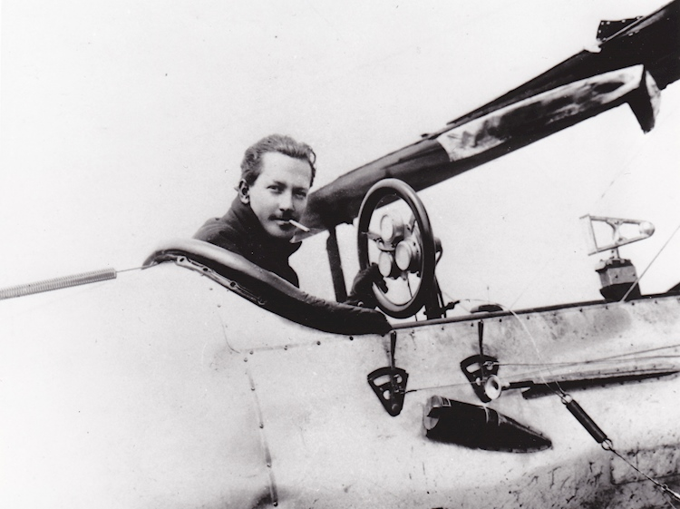 rhodes_moorhouse_vc_sitting_in_a_plane_cockpit