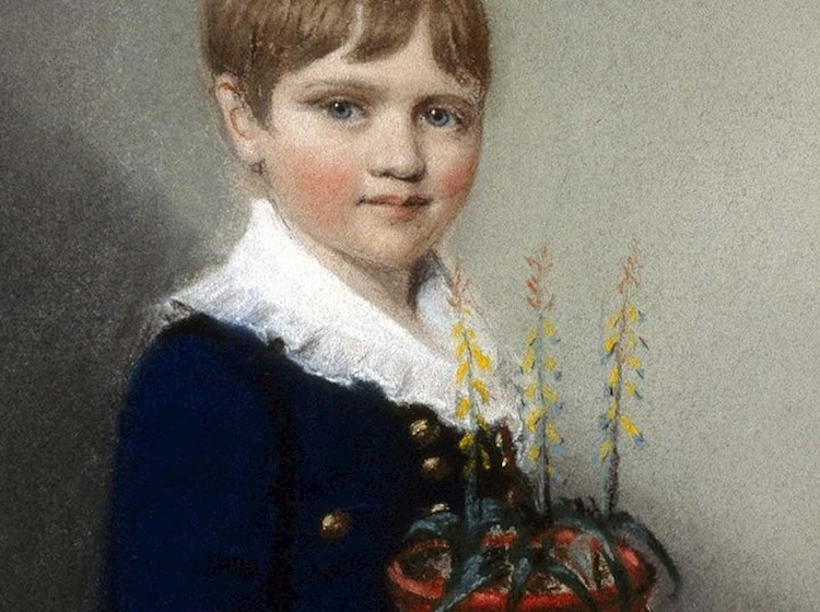 earliest_known_picture_of_charles_darwin_aged_7