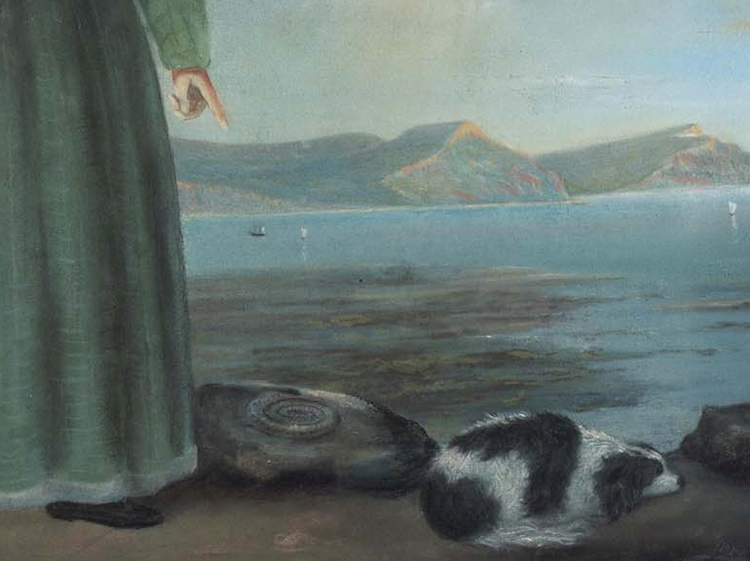 fossil_detail_from_painting_of_mary_anning