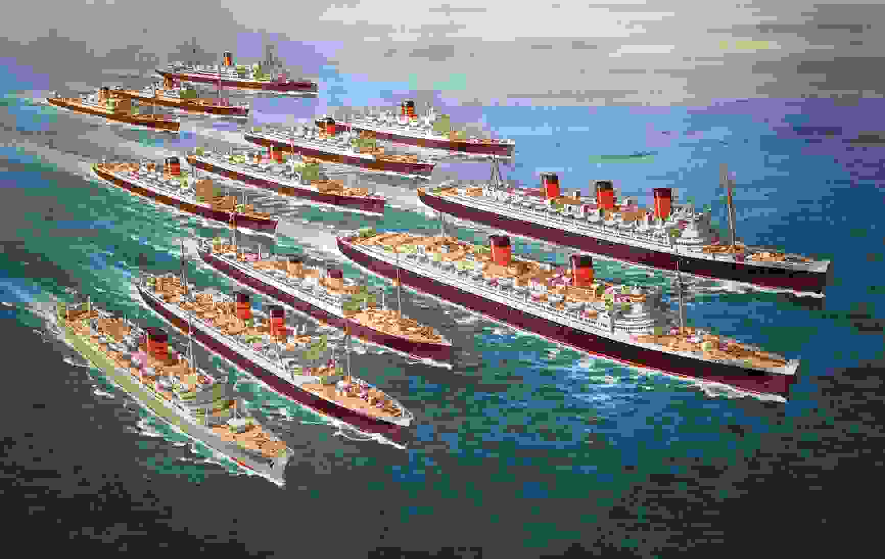 painting_of_fleet_of_liners