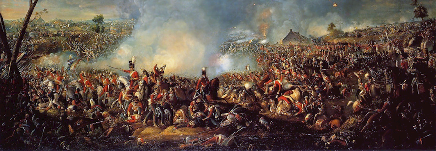 battle_of_waterloo_painting_by_william_sadler