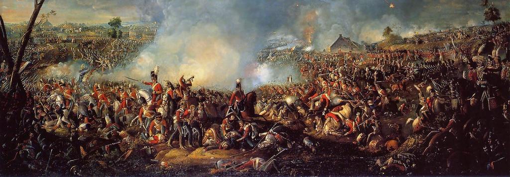 Famous Battle Of Waterloo Paintings