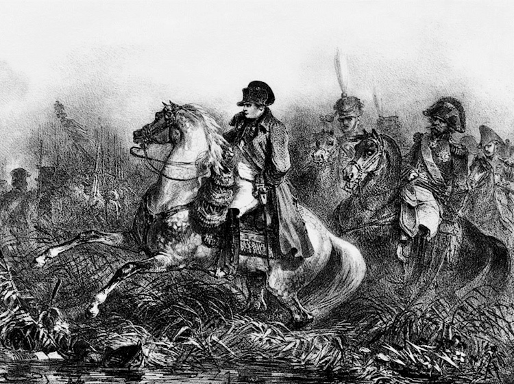 drawing_of_napoleon_on_horseback