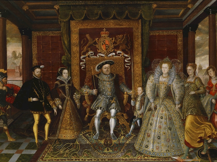 oil_painting_of_henry_viii_and_family