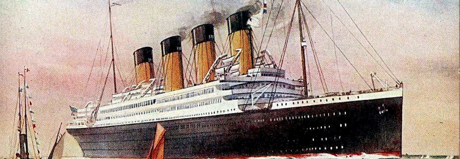 postcard_showing_britannic_at_sea