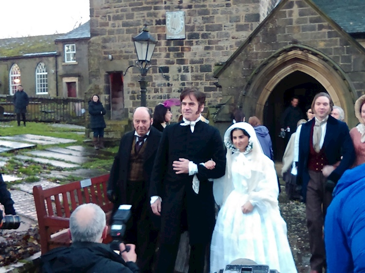 a_reenactment_of_charlotte_brontes_wedding_haworth_yorkshire