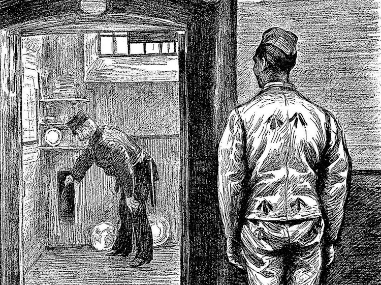 searching_a_convicts_cell_before_he_is_locked_up_for_the_night_wormwood_scrubs_1889