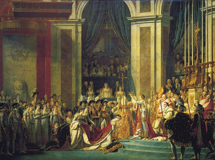 the_coronation_of_napoleon_by_jacques_louis_david_1804