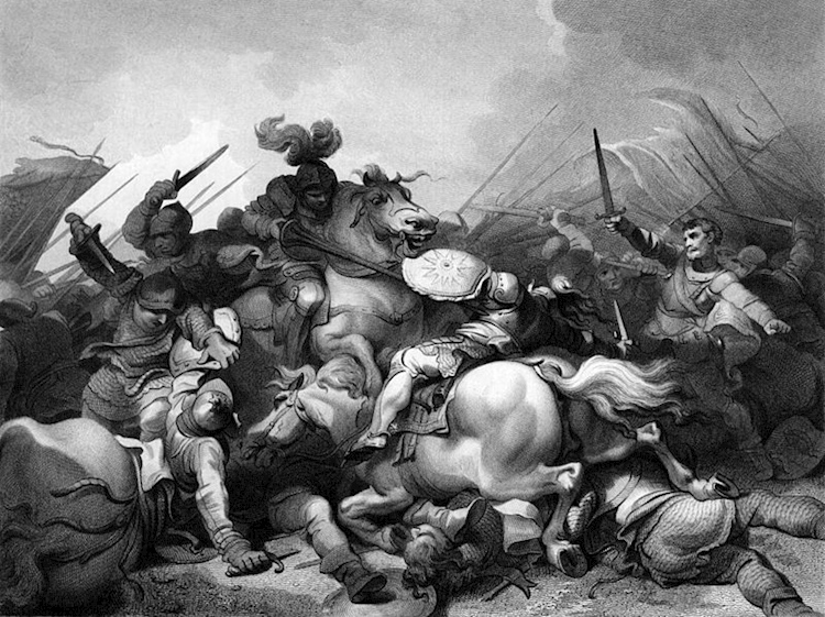 engraving_of_battle_of_bosworth_field_by_philip_james_de_loutherbourg