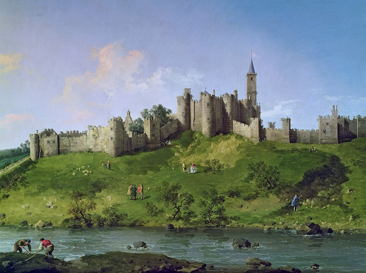 canaletto_painting_of_alnwick_castle