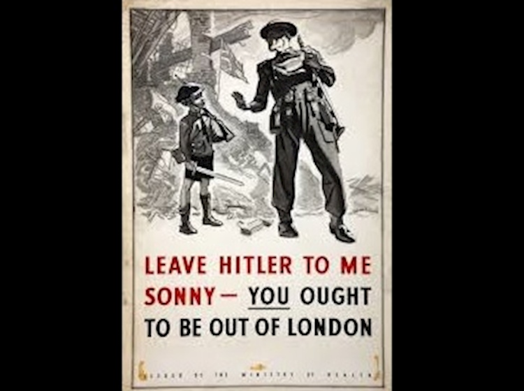 evacuation_of_children_poster_ww2_leave_hitler_to_me_sonny