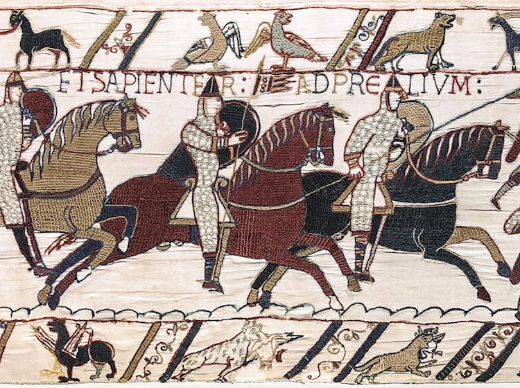 dogs_on_bayeaux_tapestry