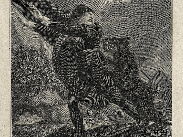1807_print_of_antigonus_being_chased_by_bear_in_william_shakespeares_the_winters_tale