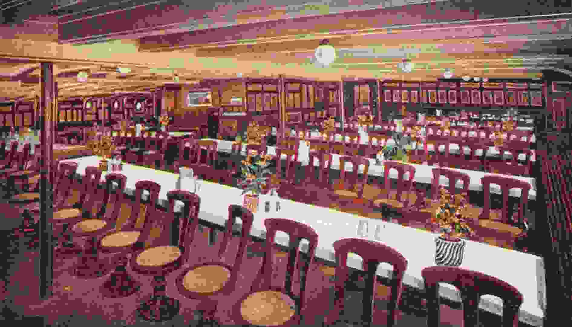 The Third Class Dining Room. The History Press   RMS Mauretania  Cunard s most luxurious ocean