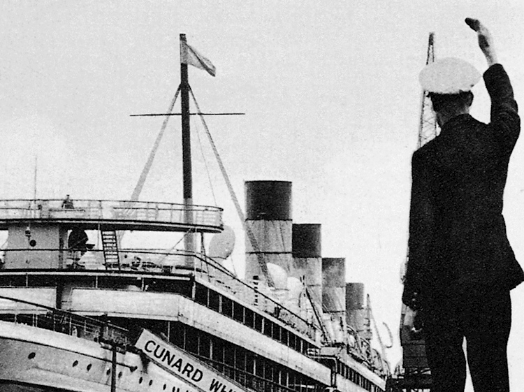 the_mauretania_sets_sail_on_her_final_voyage
