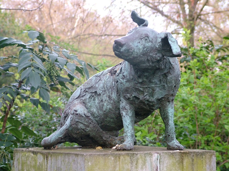 new_brown_dog_statue_battersea_park