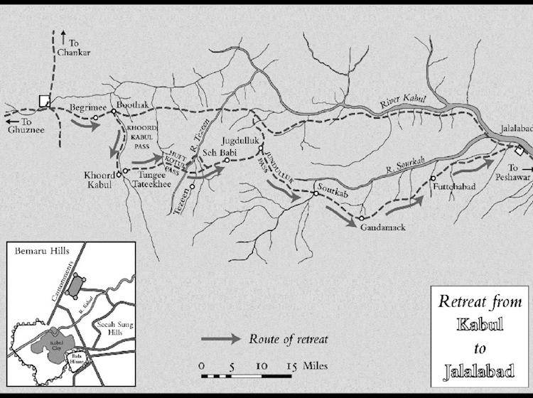 map_of_retreat_from_kabul_macrory_signal_catastrophe