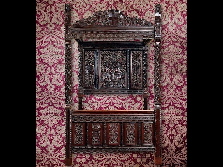 henryvii_elizabeth_of_york_royal_bed