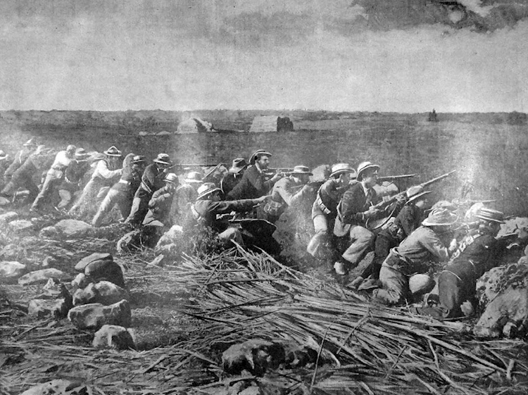 picture_from_the_graphic_of_boers_firing_from_their_trenches_at_the_siege_of_mafeking
