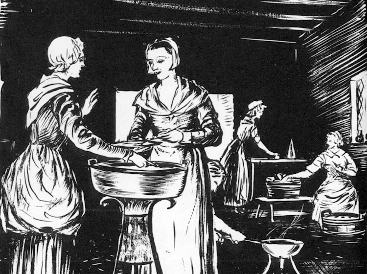 women_brewing_in_jamestown