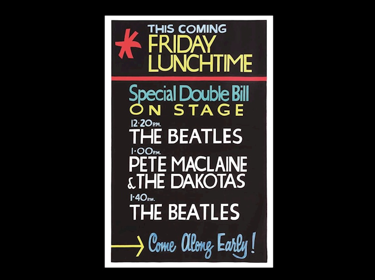 beatles_poster_friday_lunchtime