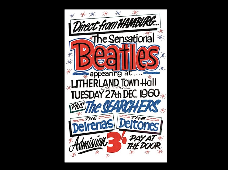 beatles_poster_litherland_town_hall