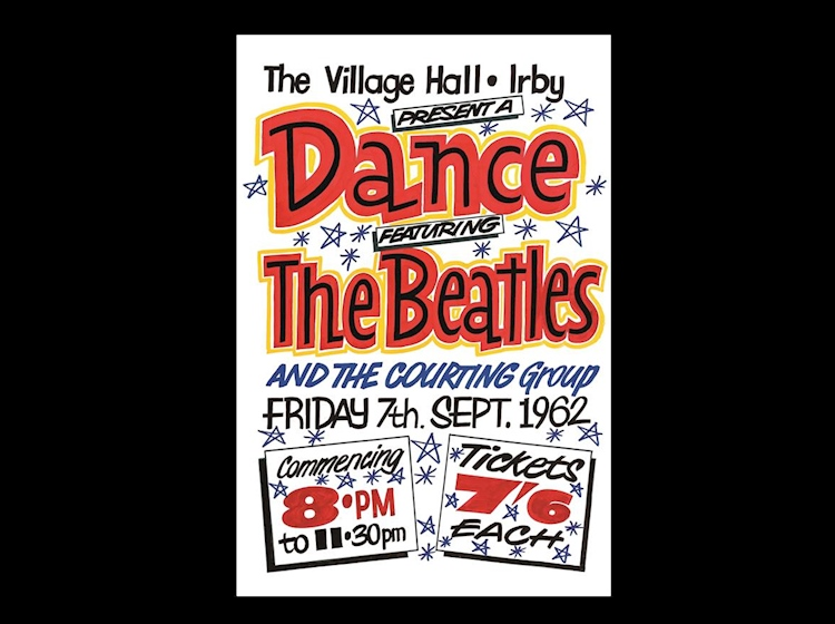 beatles_poster_the_village_hall_irby