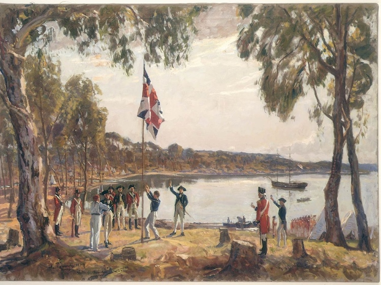 the_founding_of_australia_by_capt_arthur_phillip_rn_sydney_cove_jan_26_1788