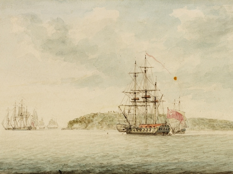 slnsw_826105_botany_bay_new_south_wales_ca_1789_watercolour_by_charles_gore