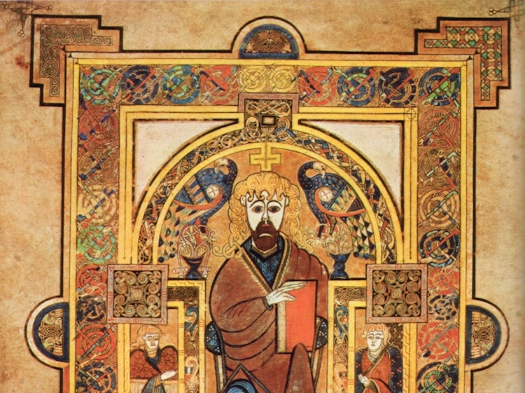 book_of_kells_christ_enthroned