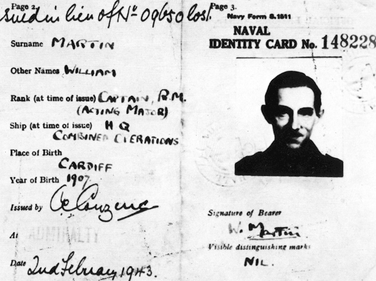 major_martin_identity_card_operation_mincemeat
