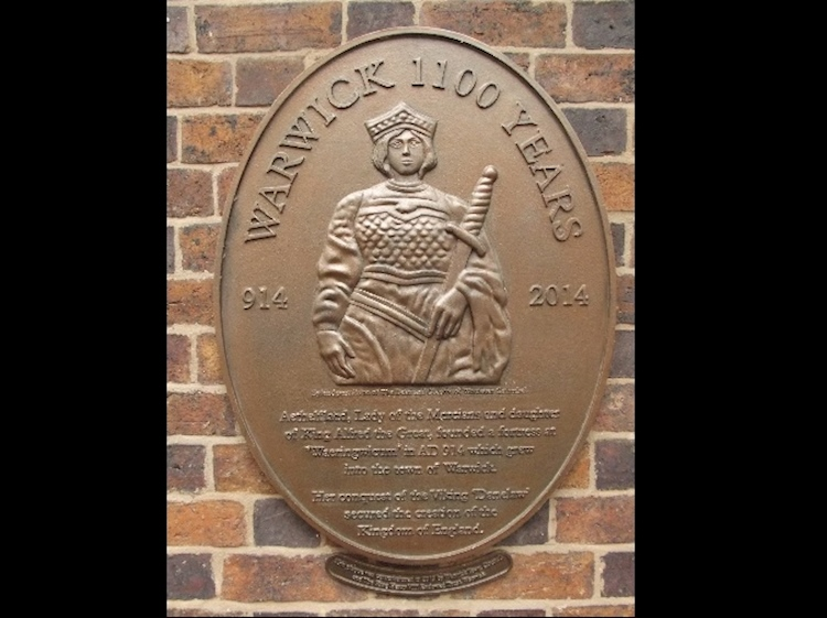 warwick_1100_years_plaque_914_to_2014_aethelflaed