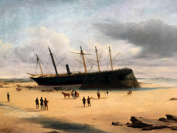 ss_great_britain_stranded_in_dundrum_bay