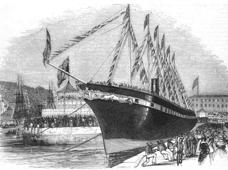 the_launch_of_ss_great_britain_1843