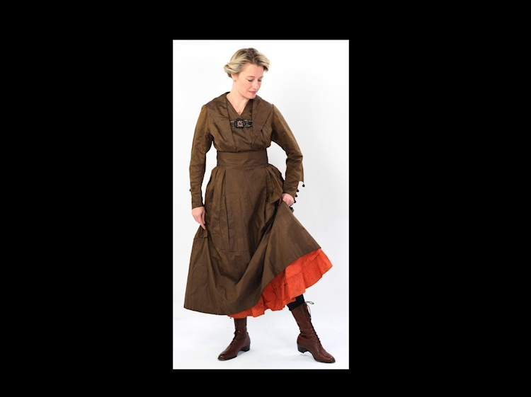 a_brown_silk_dress_remodelled_dress
