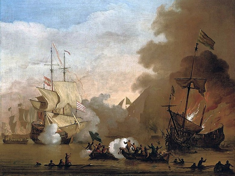willem_van_de_velde_barbary_pirates_battlejpg