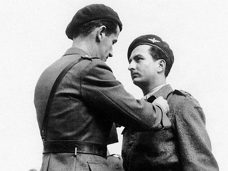 maloubier_receiving_croix_de_guerre