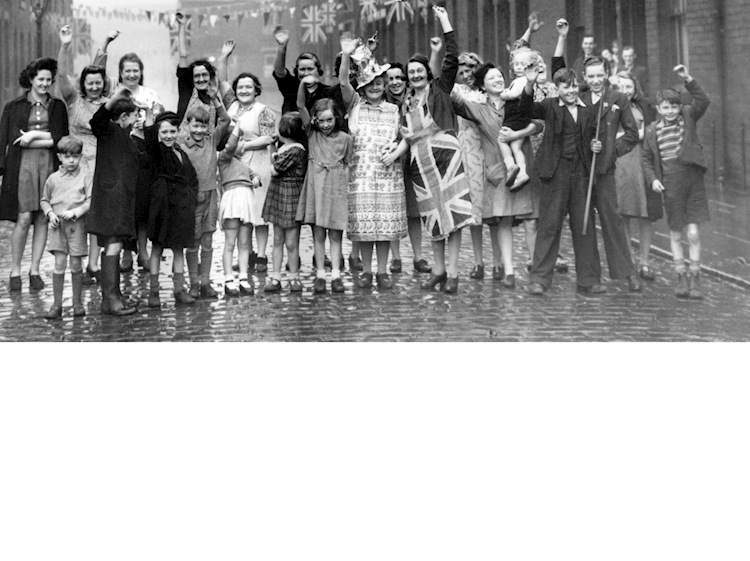 a_photograph_of_women_and_children_celebrating_ve_day_in_manchester_by_mirrorpix